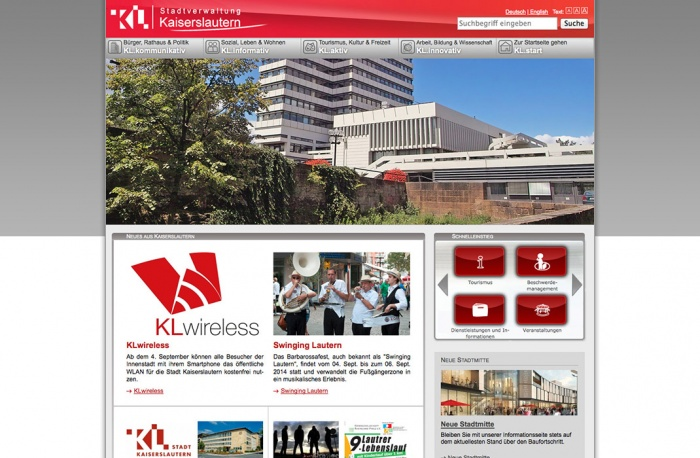 Kaiserslautern.de ab 09/2014
