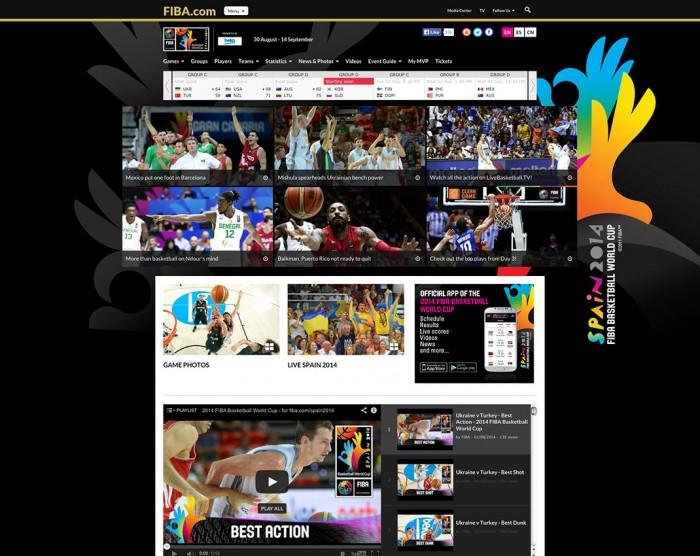 Website FIBA