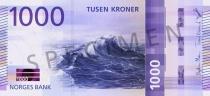 Neue 1.000-Krone-Note (Vorderseite)