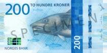 Neue 200-Krone-Note (Vorderseite)