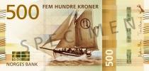 Neue 500-Krone-Note (Vorderseite)