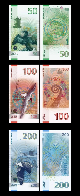 Banknoten – Entwurf Enzo Finger