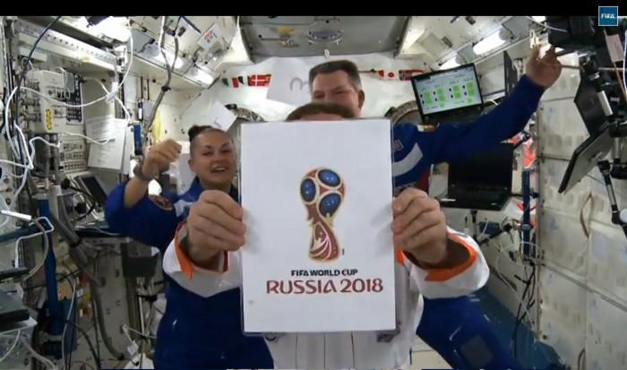 FIFA Russia 2018 – Präsentation des Logos