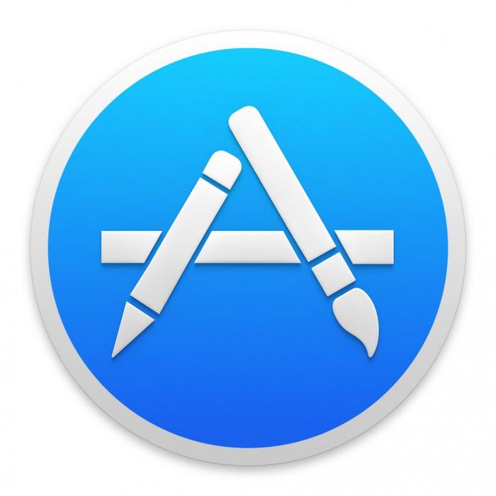 App-Store-Symbol in Mac OS X Yosemite