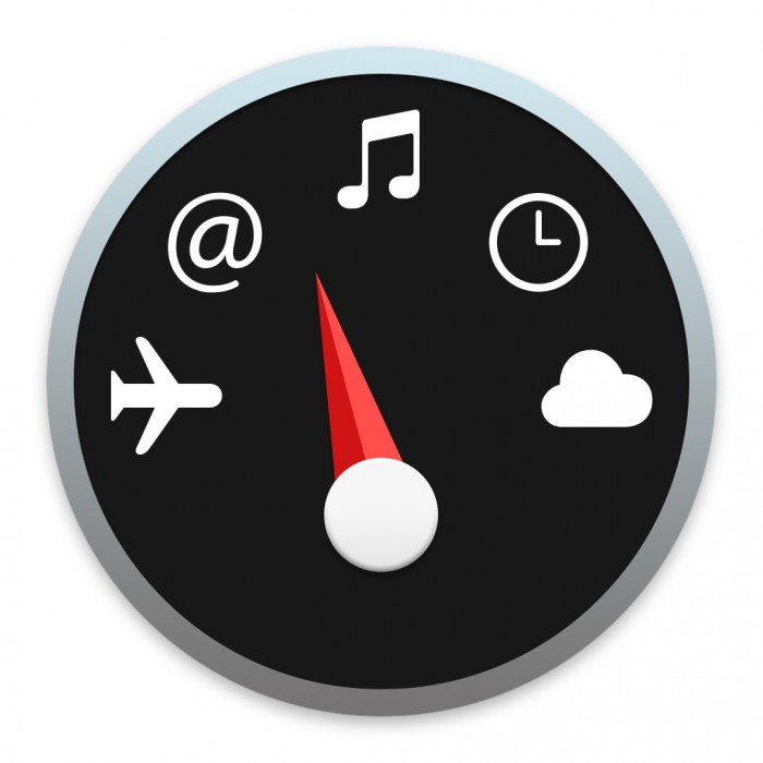 Dashboard-Symbol in Mac OS X Yosemite