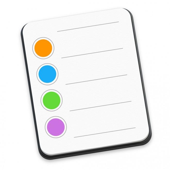 Erinnerungen-Symbol in Mac OS X Yosemite