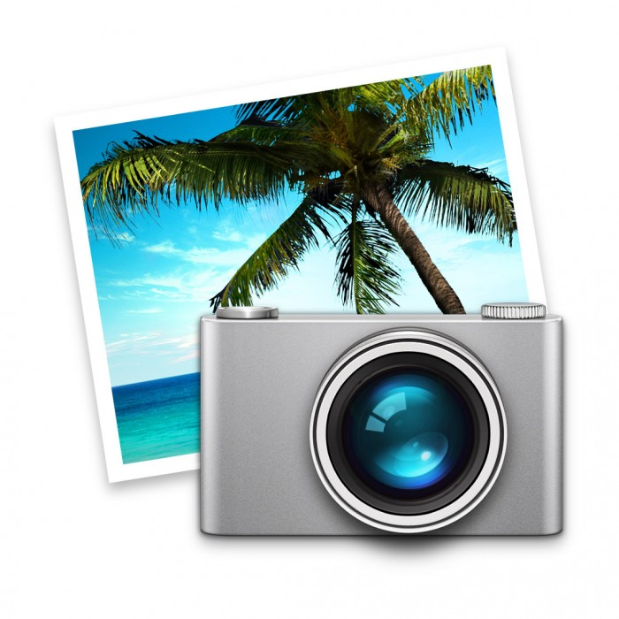 iPhoto-Symbol in Mac OS X Yosemite