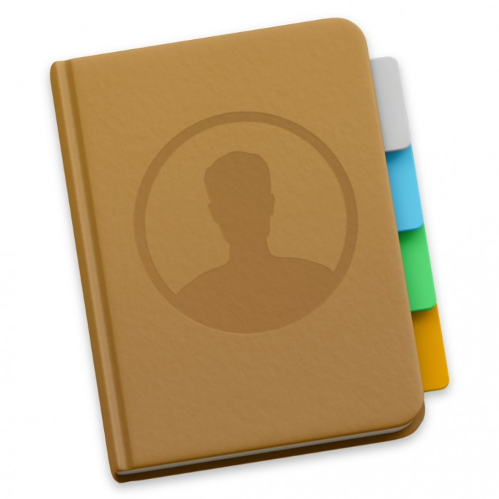 Kontakte-Symbol in Mac OS X Yosemite