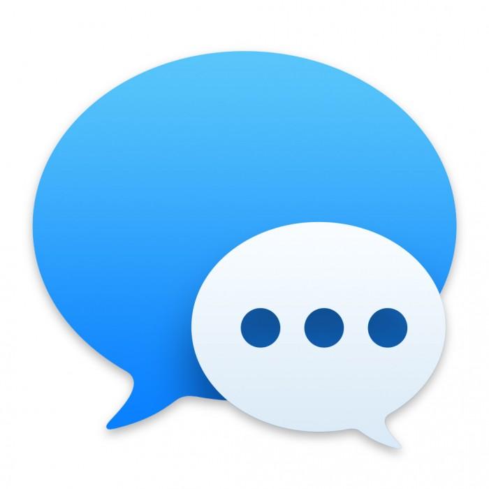 Nachrichten-Symbol in Mac OS X Yosemite