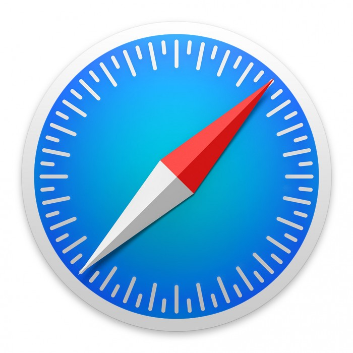 Safari-Symbol in Mac OS X Yosemite