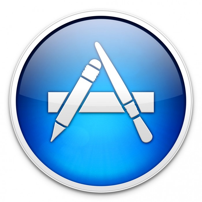 App-Store-Symbol in Mac OS X Mavericks