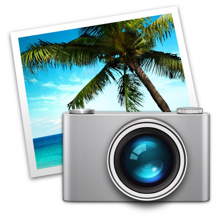 iPhoto-Symbol in Mac OS X Mavericks
