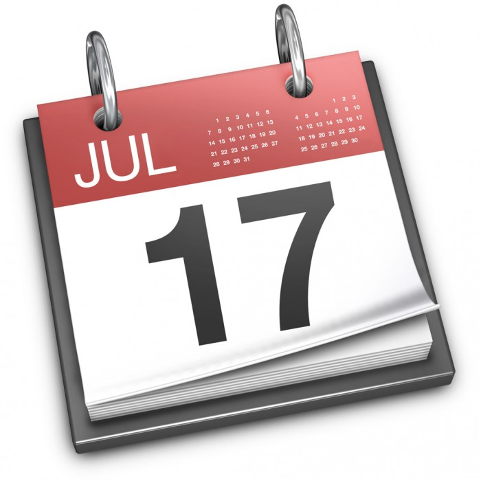 Kalender-Symbol in Mac OS X Mavericks