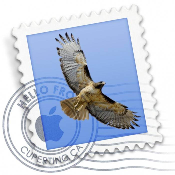 Mail-Symbol in Mac OS X Mavericks