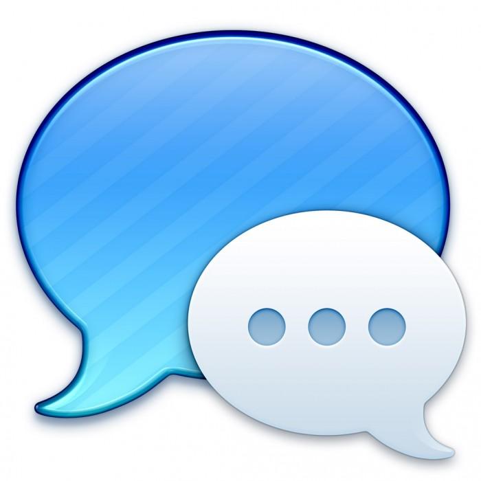Nachrichten-Symbol in Mac OS X Mavericks
