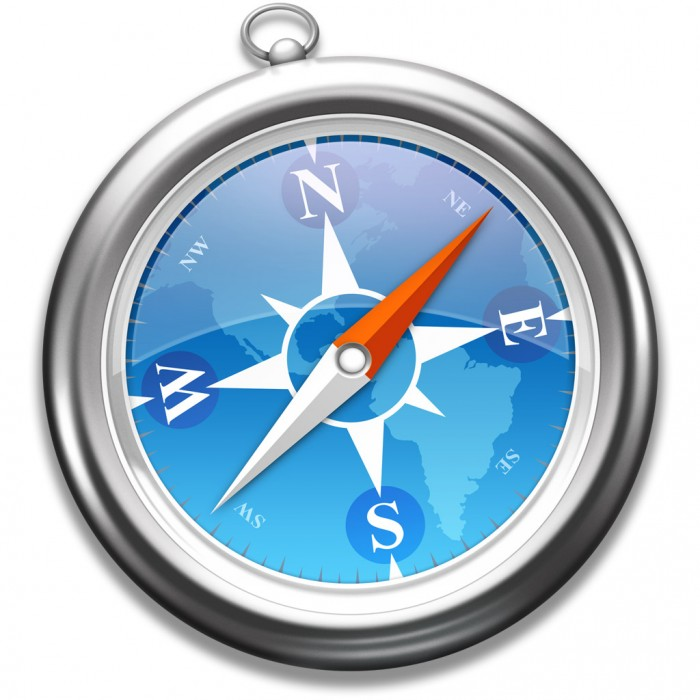 Safari-Symbol in Mac OS X Mavericks