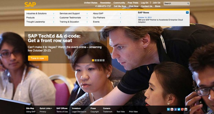SAP Website