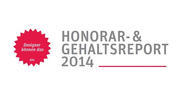 Umfrage: BDG Honorar- und Gehaltsreports 2014