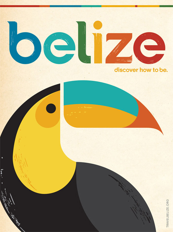 Belize Print Ad