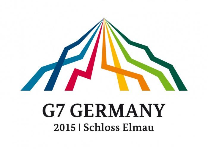 Logo des G7-Gipfels 2015