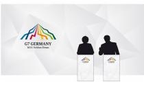 G7-Gipfel 2015 Pressewand