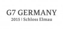 G7-Gipfel 2015 Wortmarke