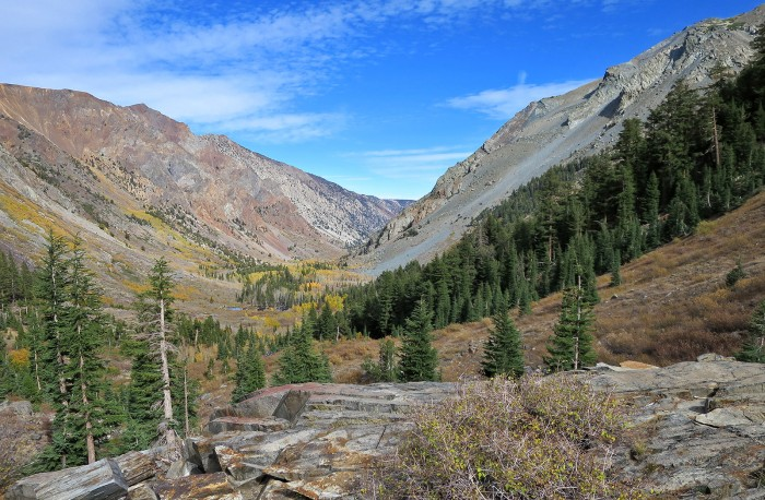 Lundy Canyon Trail