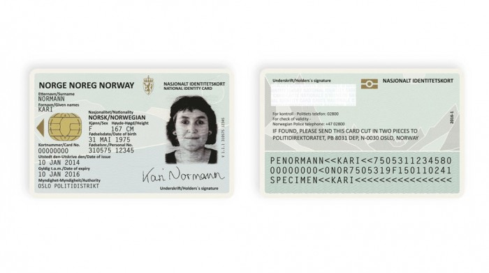 Norwegian ID Card