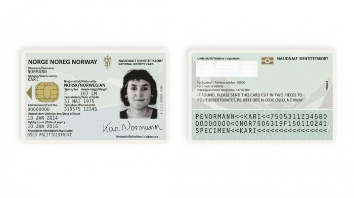 Norwegian ID Card