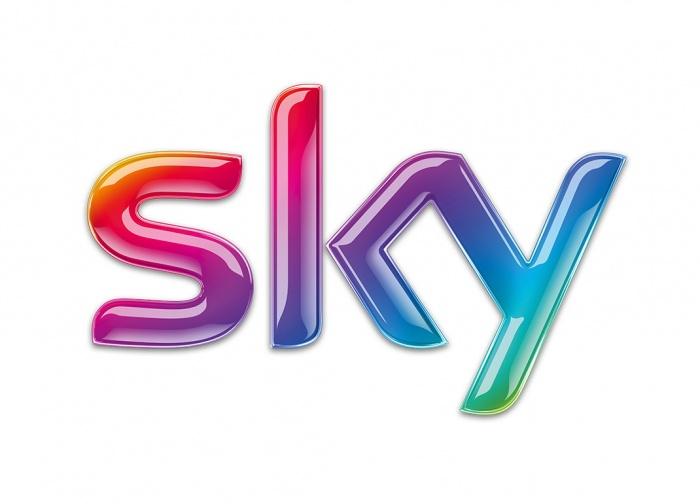 Sky mit modifiziertem Senderlogo