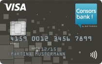 Consorsbank-VISA-Card