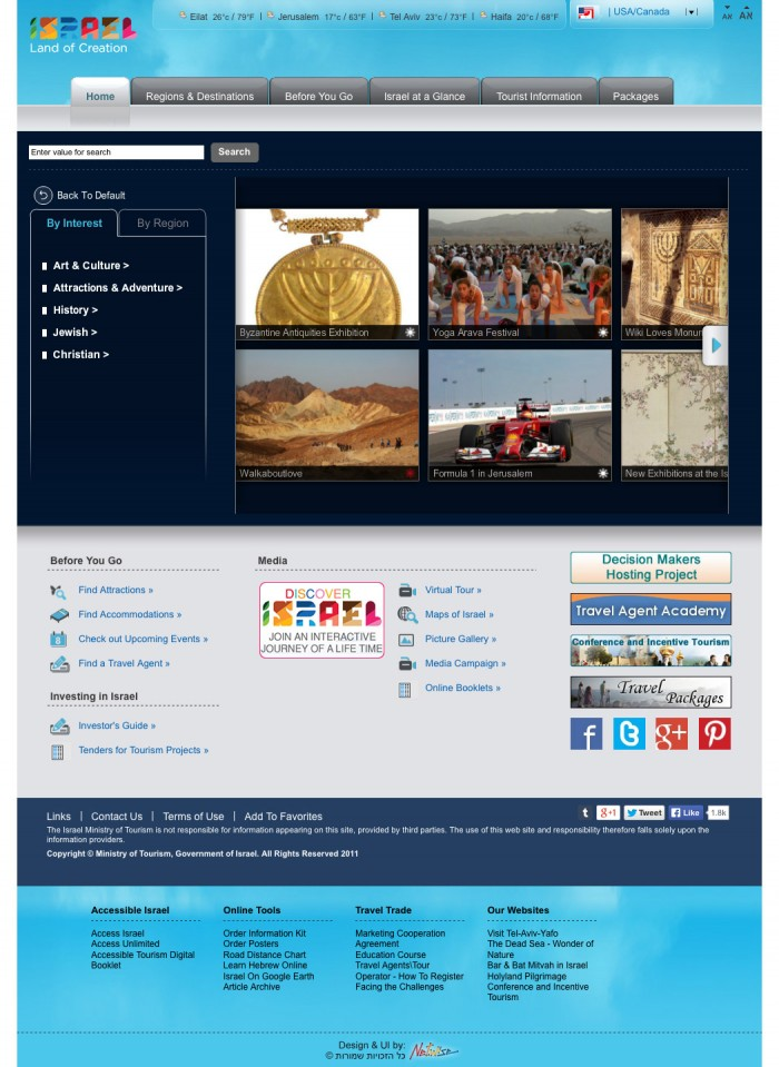 goisrael.com Website