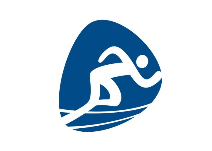 Piktogramme der Olympischen Spiele 2016 in Rio