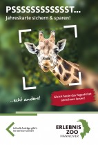 Zoo Hannover Flyer