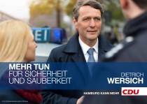 CDU Hamburg Plakat zur Bürgerschaftswahl 2015