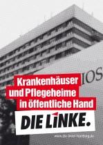 Die Linke Hamburg Plakat zur Bürgerschaftswahl 2015