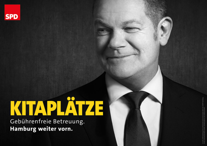 SPD Hamburg Plakat zur Bürgerschaftswahl 2015