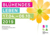 BUGA 2019 Plakat, Quelle: Bundesgartenschau Heilbronn 2019 GmbH