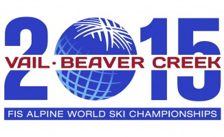 Logo des FIS Worldcup 2015 in Vail Beaver Creek