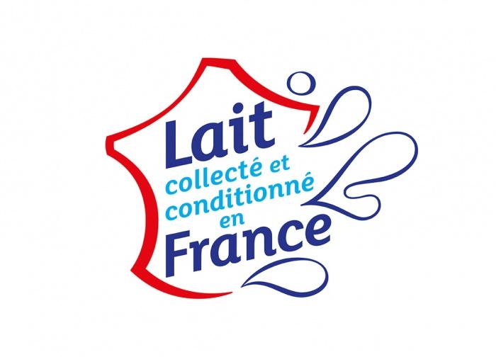 Milch aus Frankreich / Lait France