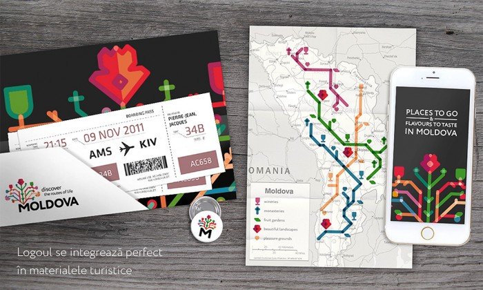 """Moldova Brand €"""" Discover the routes of life"""