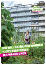 Grüne Schweiz Plakat