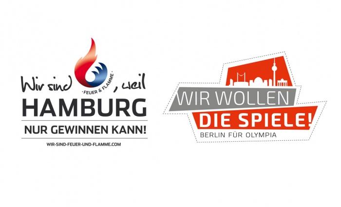 Olympiabewerbung Logos