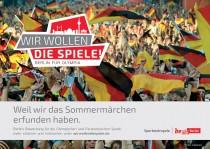 Wir wollen die Spiele. Berlin für Olympia