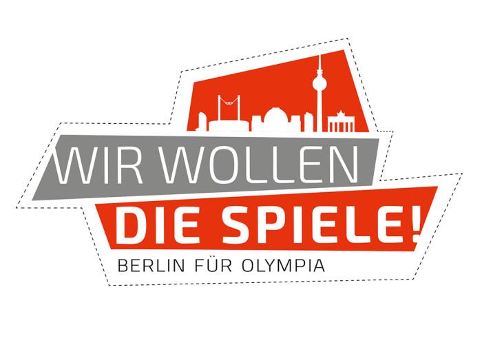 Wir wollen die Spiele – Logo