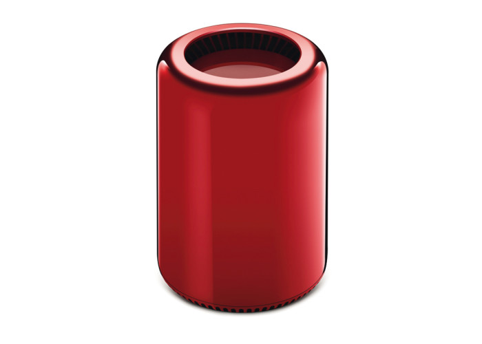 Apple MacPro in rot, 2013, Unikat, $ 977.000 bei Sotheby's
