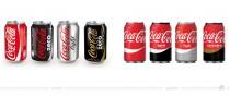 Coca-Cola Dosen (Spanien) – vorher und nachher