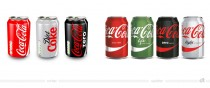 Coca-Cola Dosen (UK) – vorher und nachher