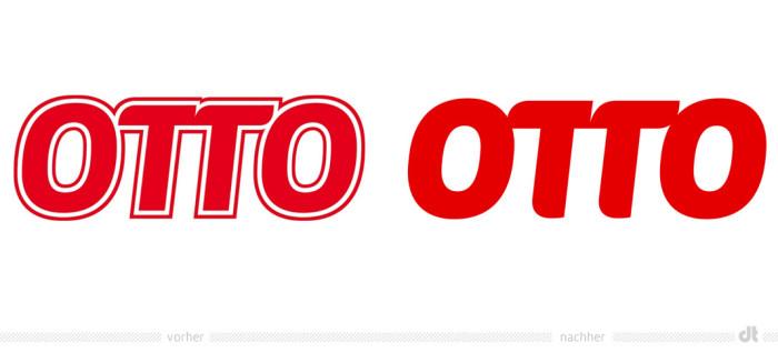 Otto Logo – vorher und nachher