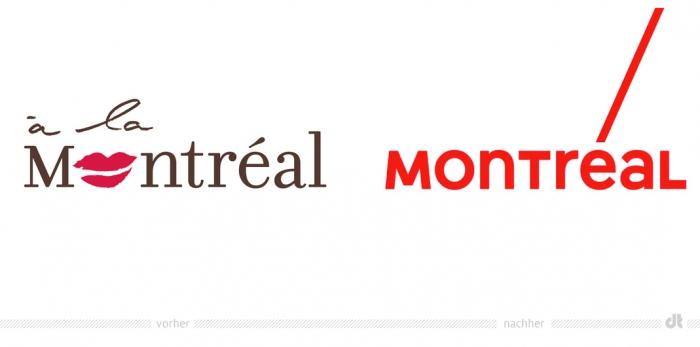 Tourisme Montréal Logo – vorher und nachher